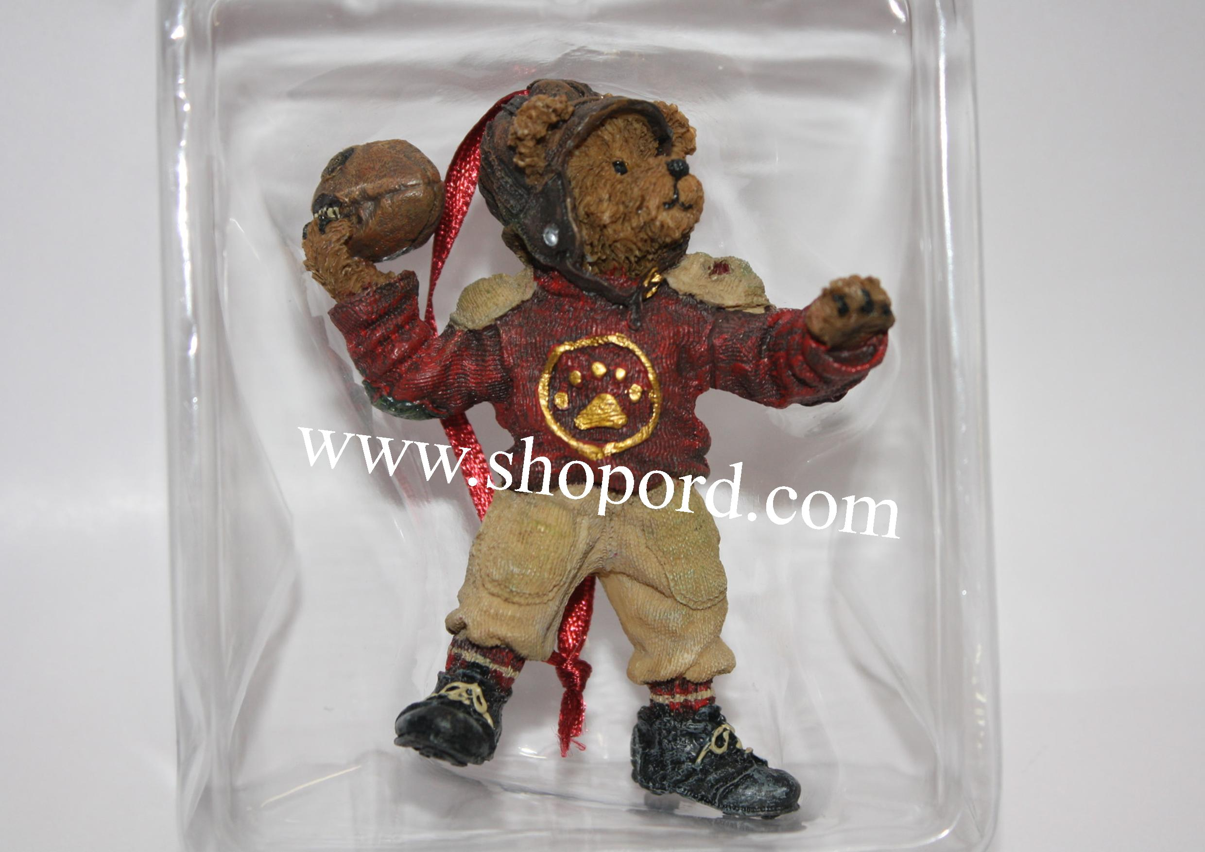 Boyds The Bearstone Collection - T.D Bearsley Ornament #257003