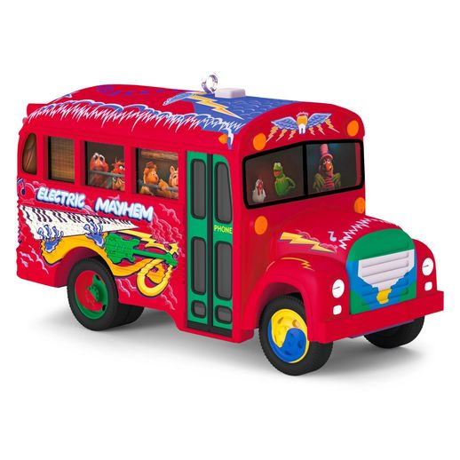 Hallmark 2016 The Electric Mayhem Bus The Muppets Musical Ornament QXD6011