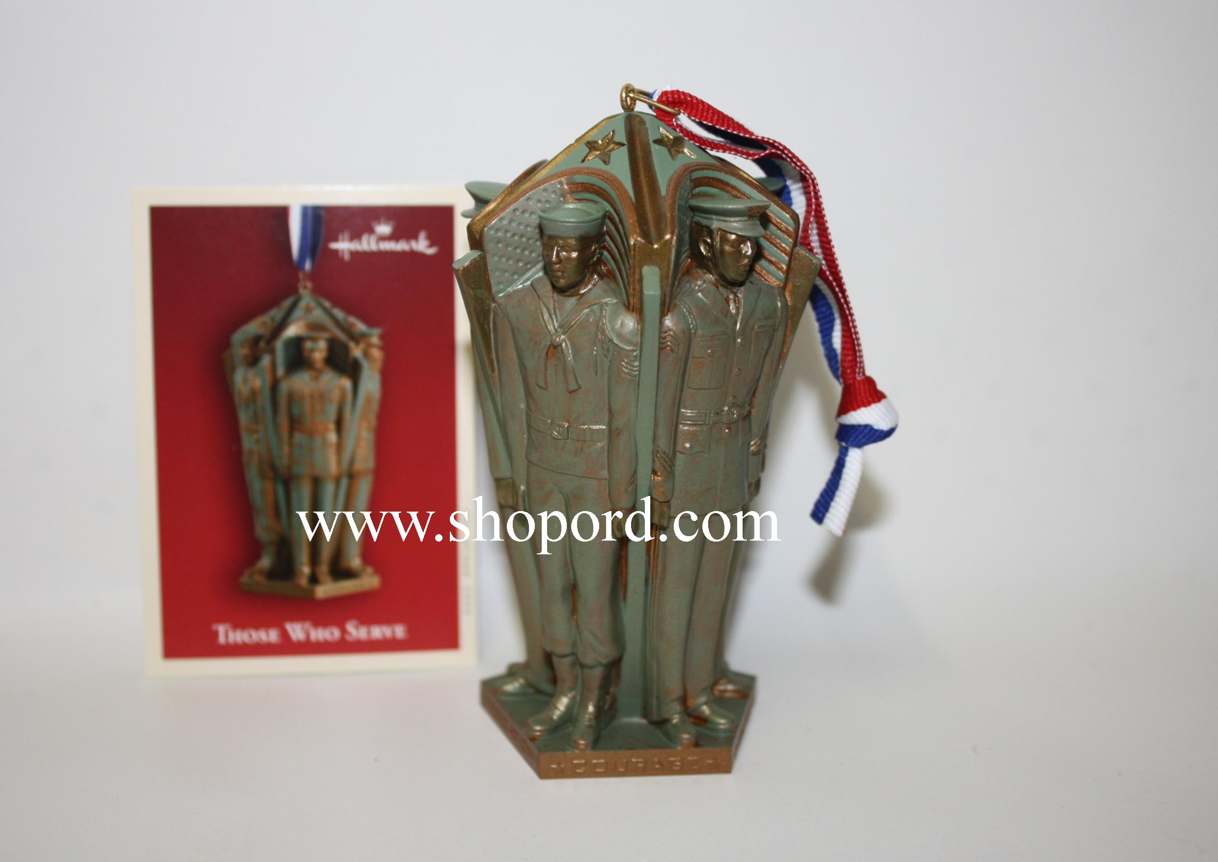 Hallmark 2004 Those Who Serve Ornament QXG5444