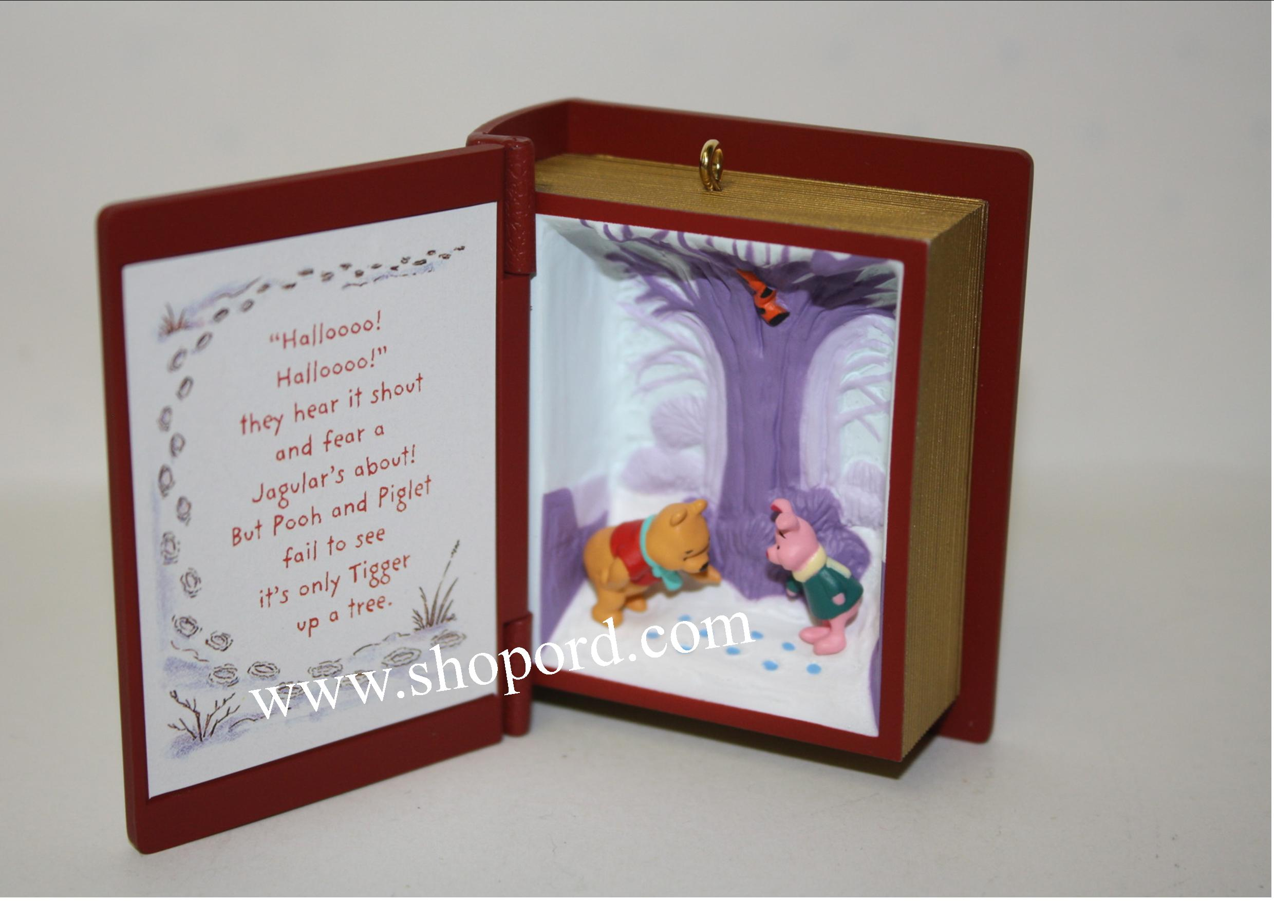 Hallmark 2001 Tracking The Jagular Winnie The Pooh Ornament  4th In The Series QX4132