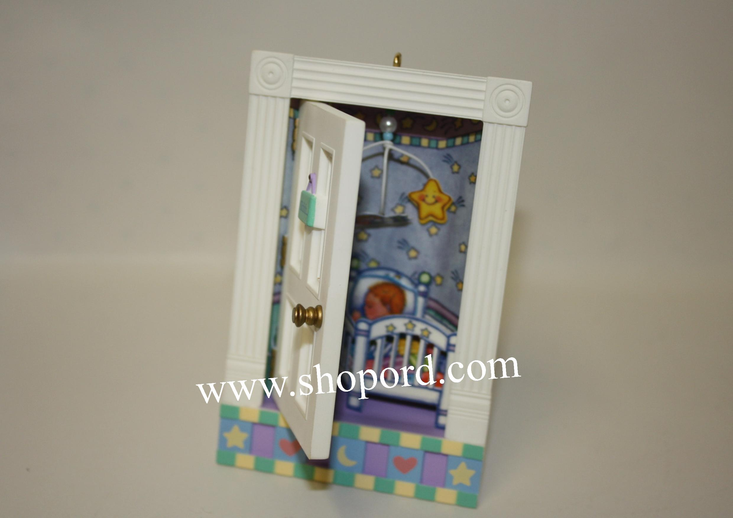 Hallmark 2002 Tucked In Tenderly by someone special Ornament QX2886