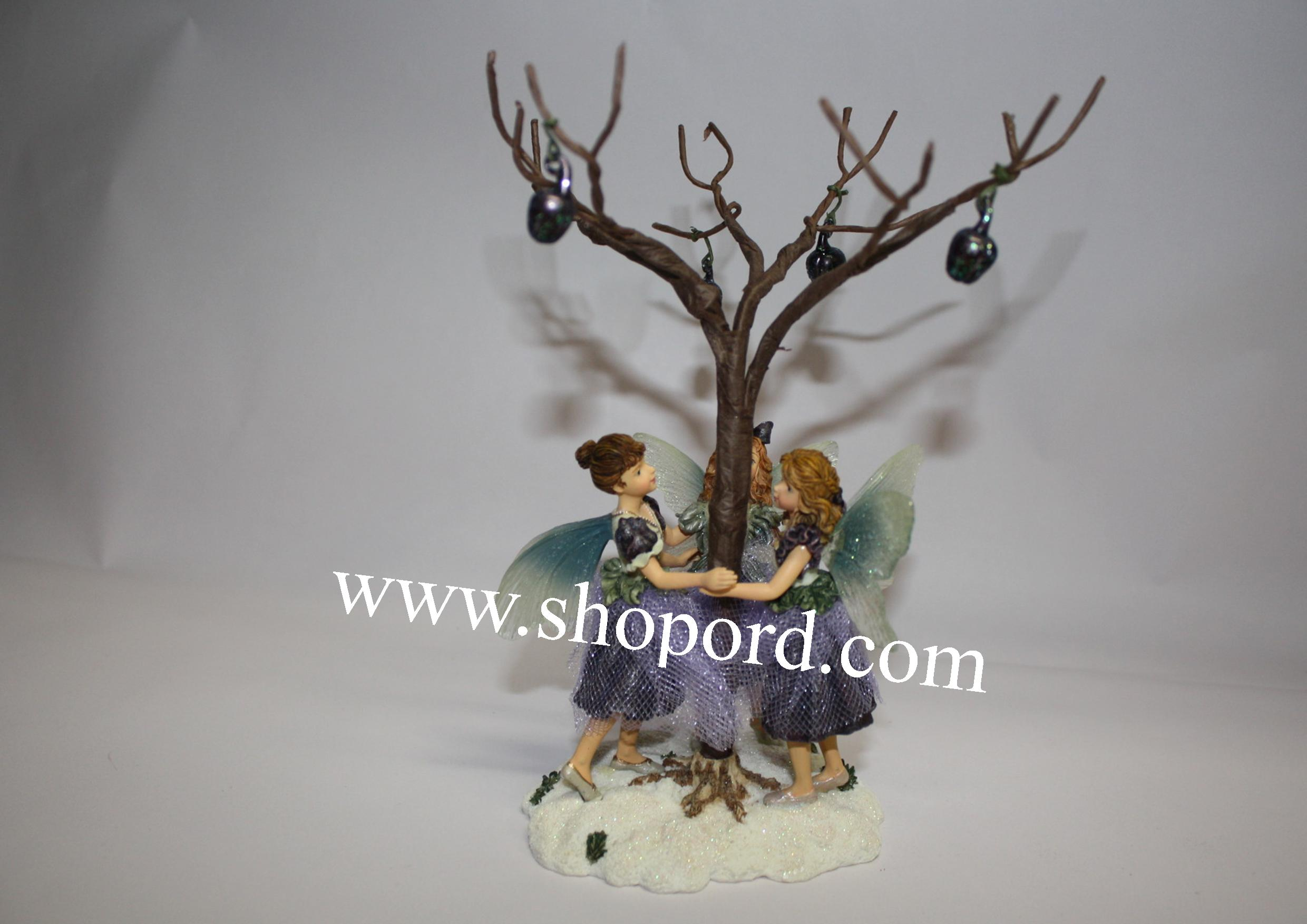 Boyds The Wee Folkstone - Twila, Margot & Giselle (Dance of the Sugar Plum Fairies) #36010