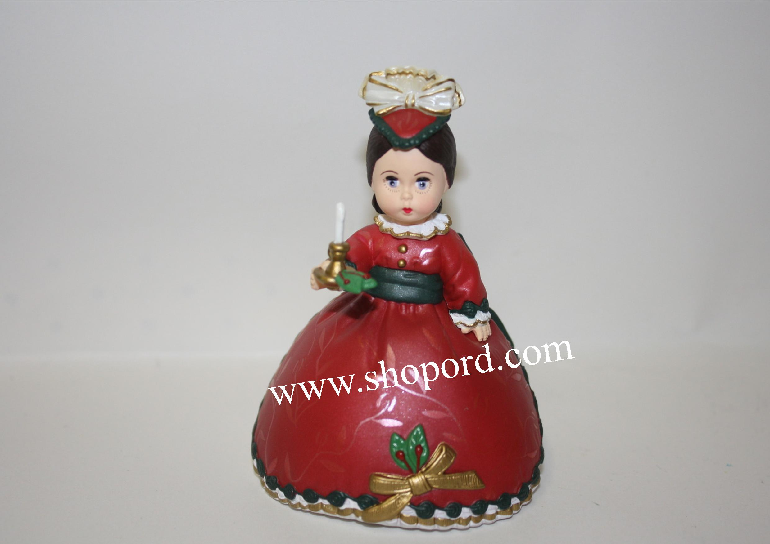 Hallmark 2001 Victorian Christmas Ornament Madame Alexander 6th In The Series QX6855
