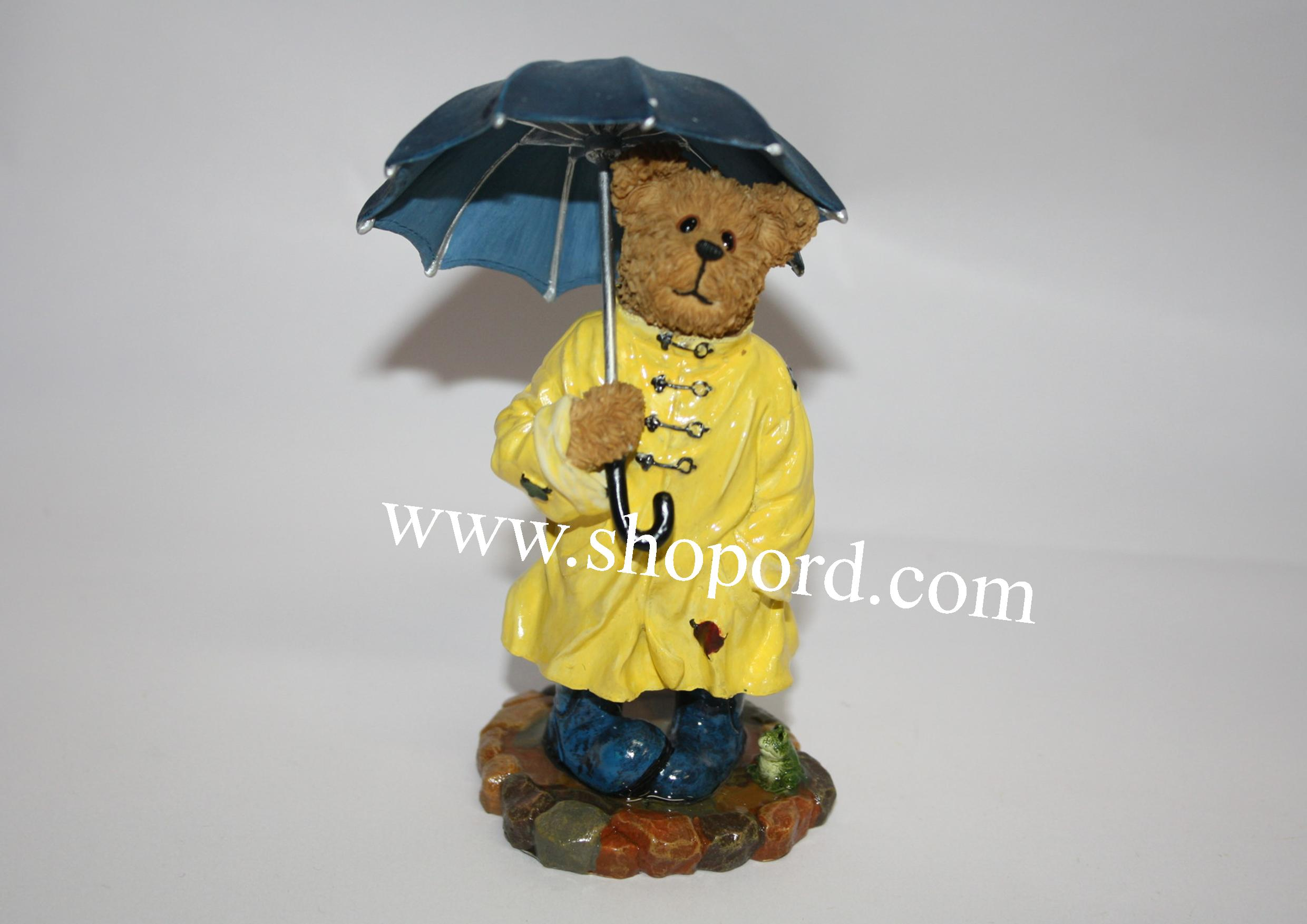 Boyds The Bearstone Collection - Wellington (Stormy Weather) #2277963