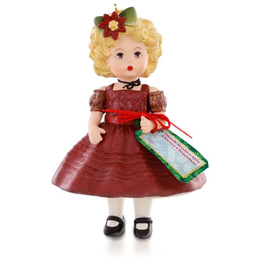 Hallmark 2015 Wendy Wishes You A Merry Christmas Madame Alexander Ornament 20th In The Series QX9147