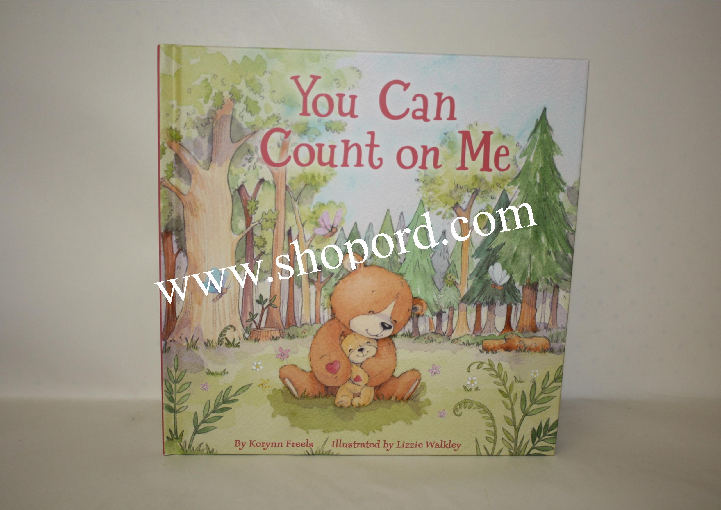 Hallmark You Can Count On Me Hardcover Book VTD1579