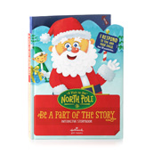 Hallmark A Visit to the North Pole - Interactive Storybook XKT1070