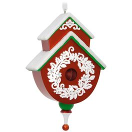 Hallmark 2017 Keepsake Beautiful Birdhouse Ornament QX9365