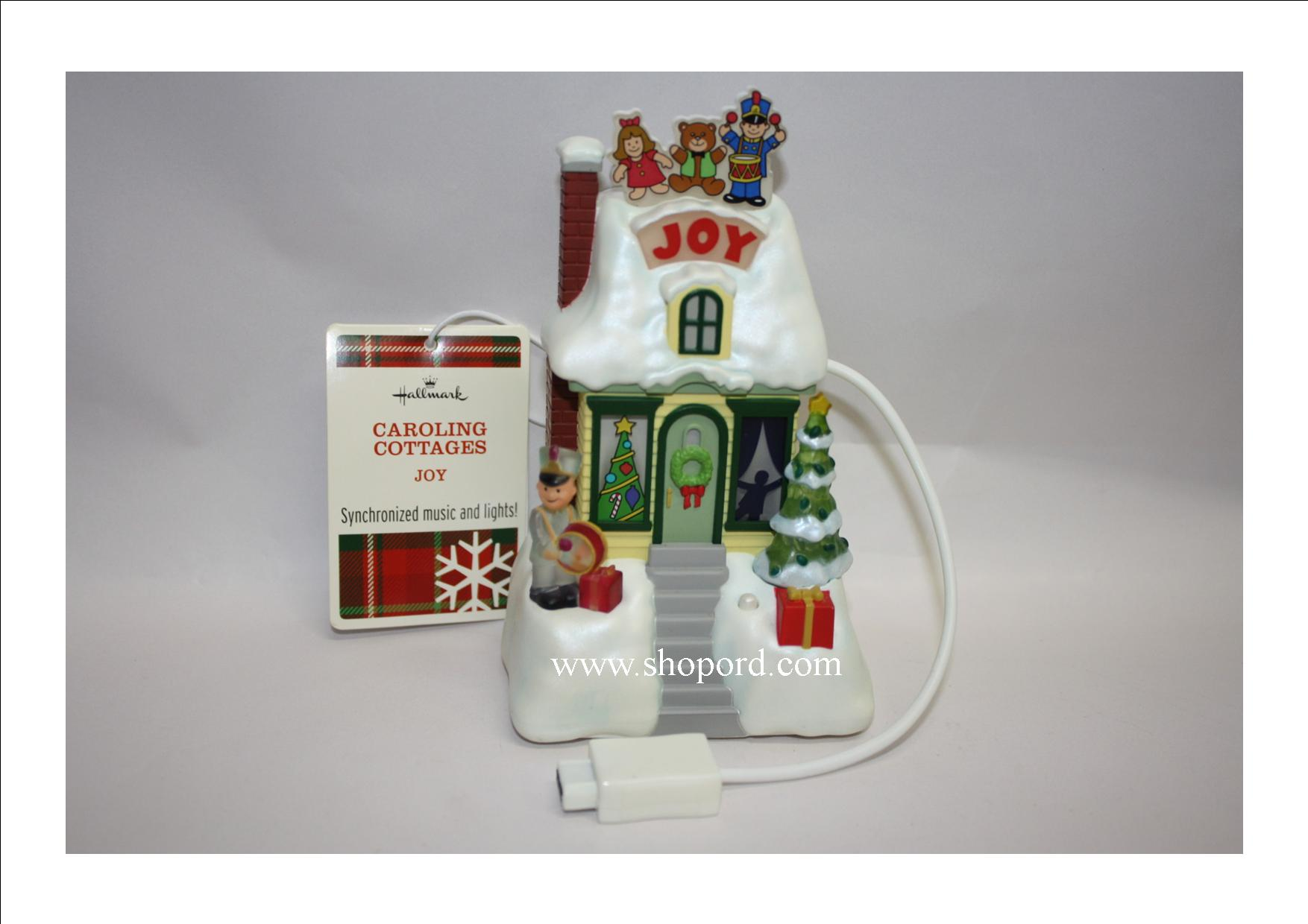 Hallmark Caroling Cottages Joy XLJ6026 (With Tag)