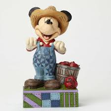 Jim Shore Fresh from the Farm Disney Mickey Mouse Figurine 4049635
