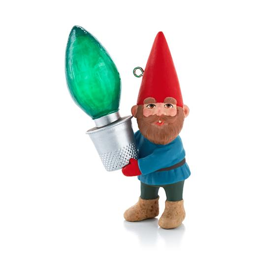 Hallmark 2013 Gnome For Christmas Ornament Revealed at Ornament Debut QXG1455
