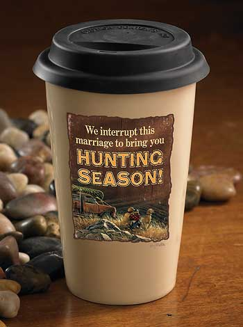 Terry Redlin- Hunting Season Travel Mug