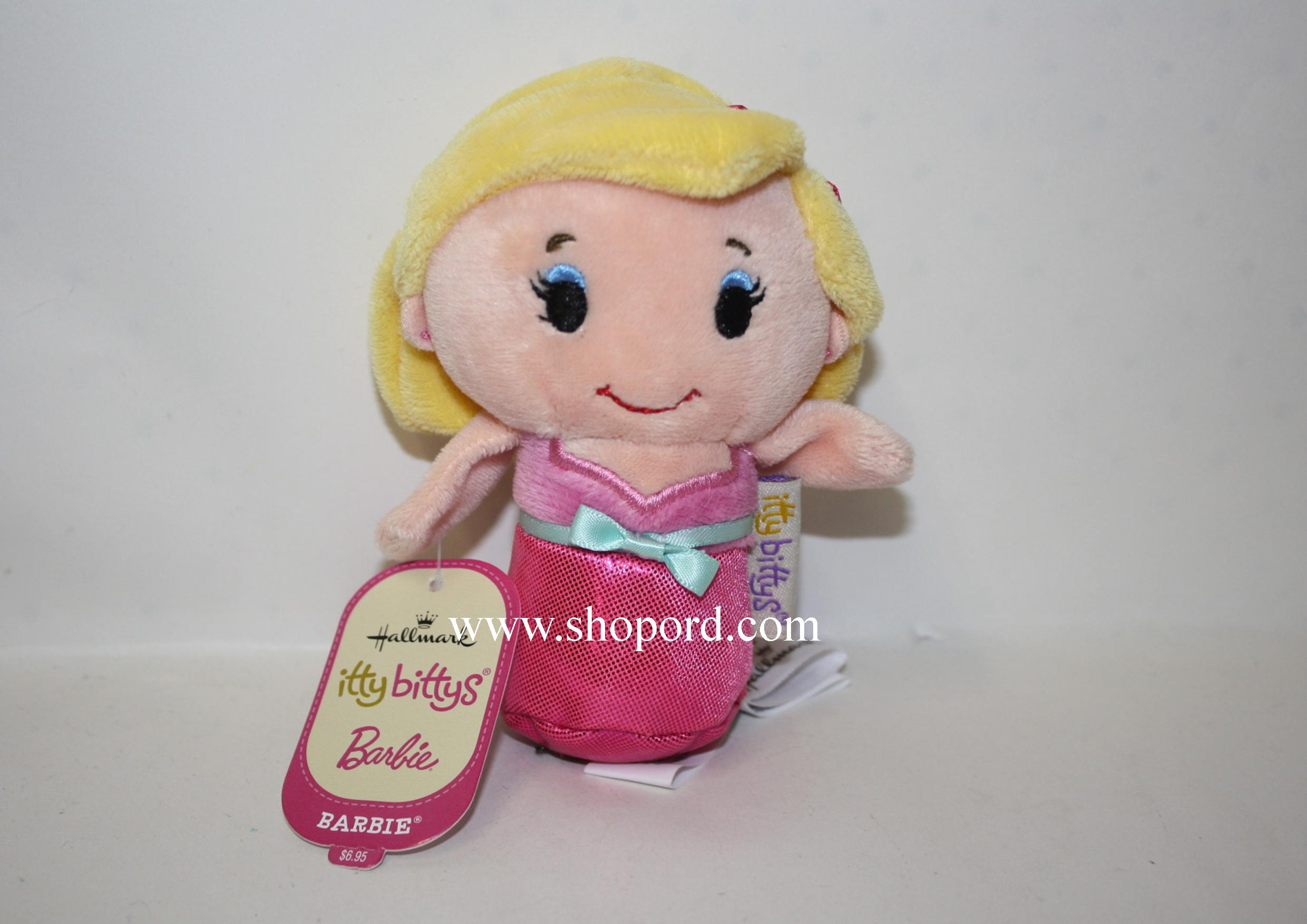 Hallmark itty bitty Barbie Plush KDD1001