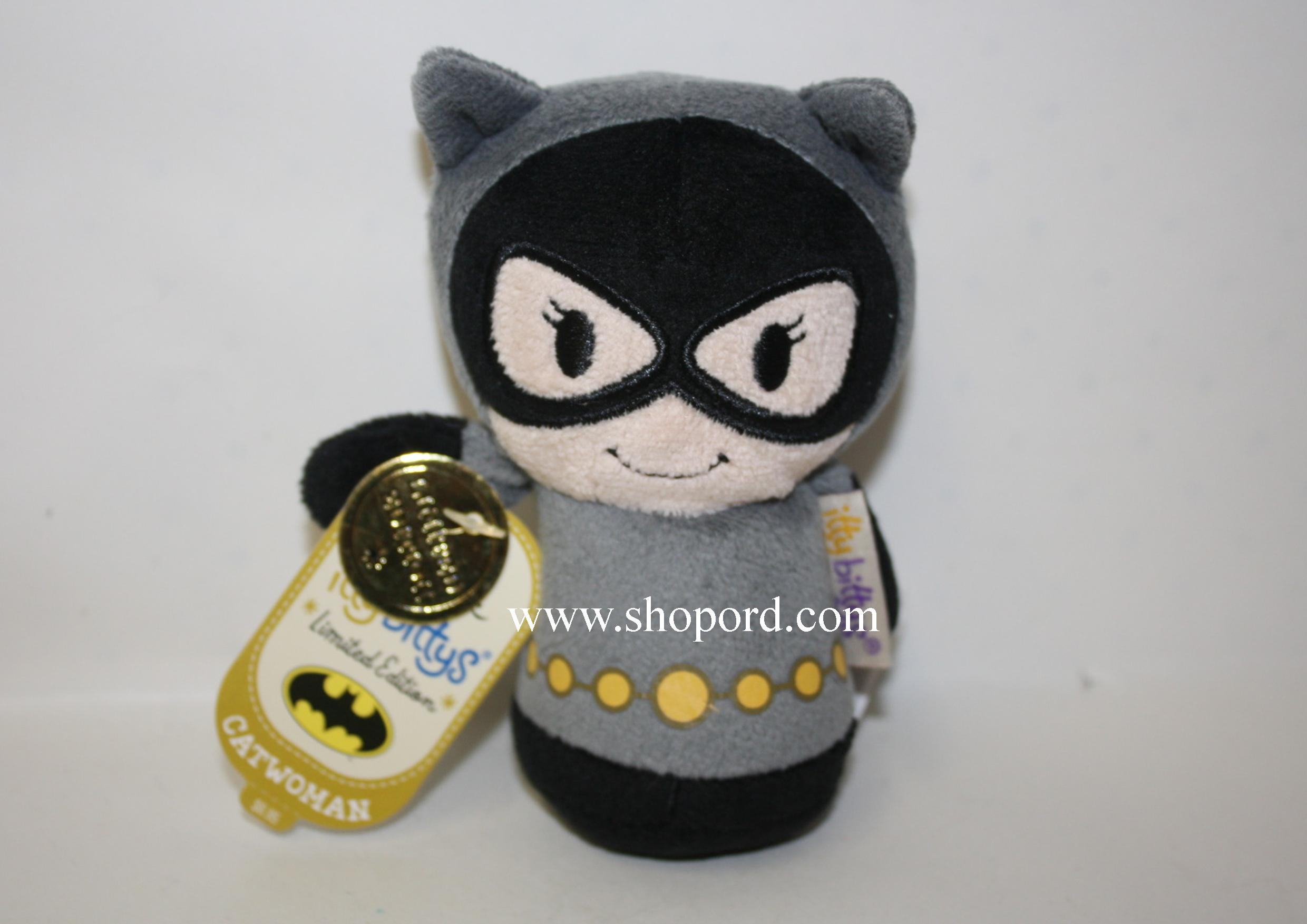 Hallmark itty bittys Catwoman Limited Edition Plush KID3374