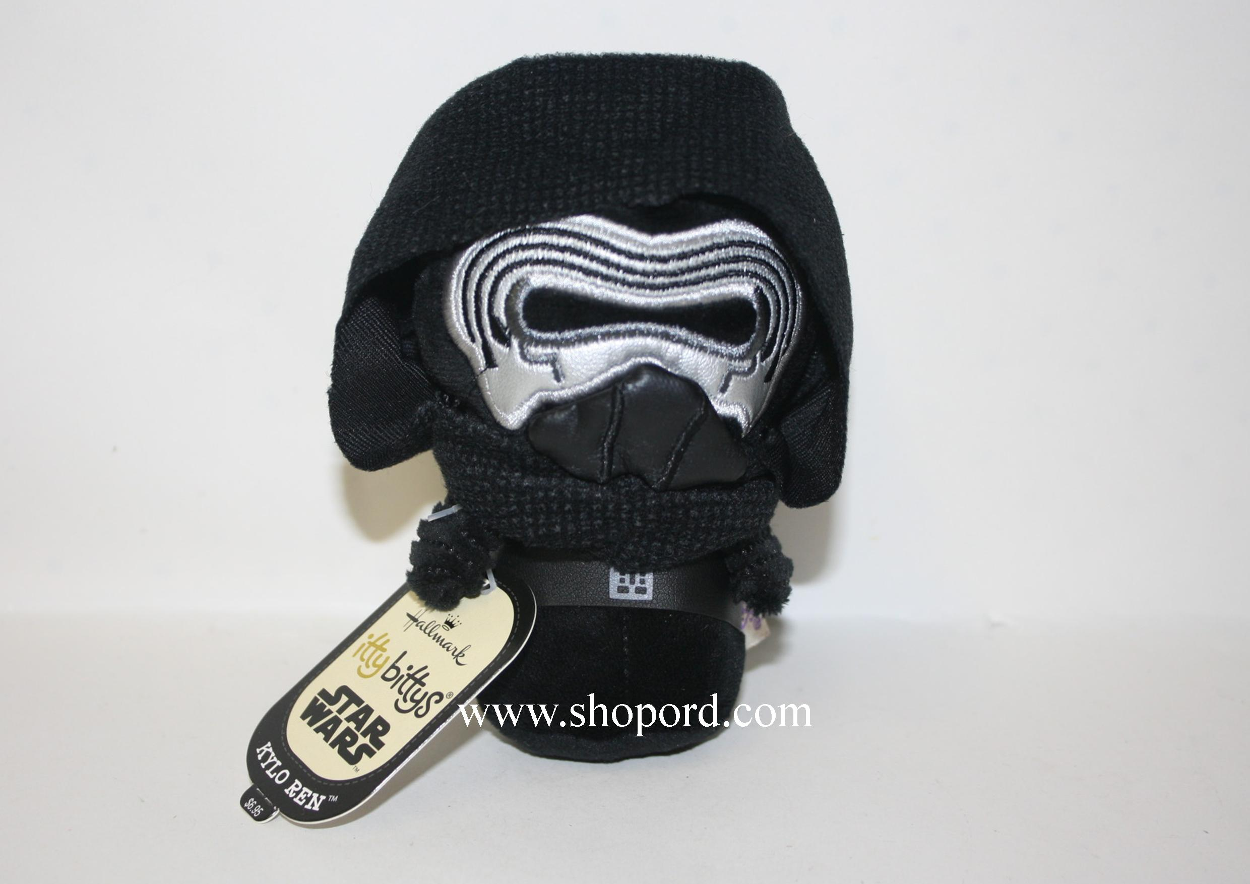 Hallmark itty bitty Kylo Ren Star Wars Disney Plush KDD1073