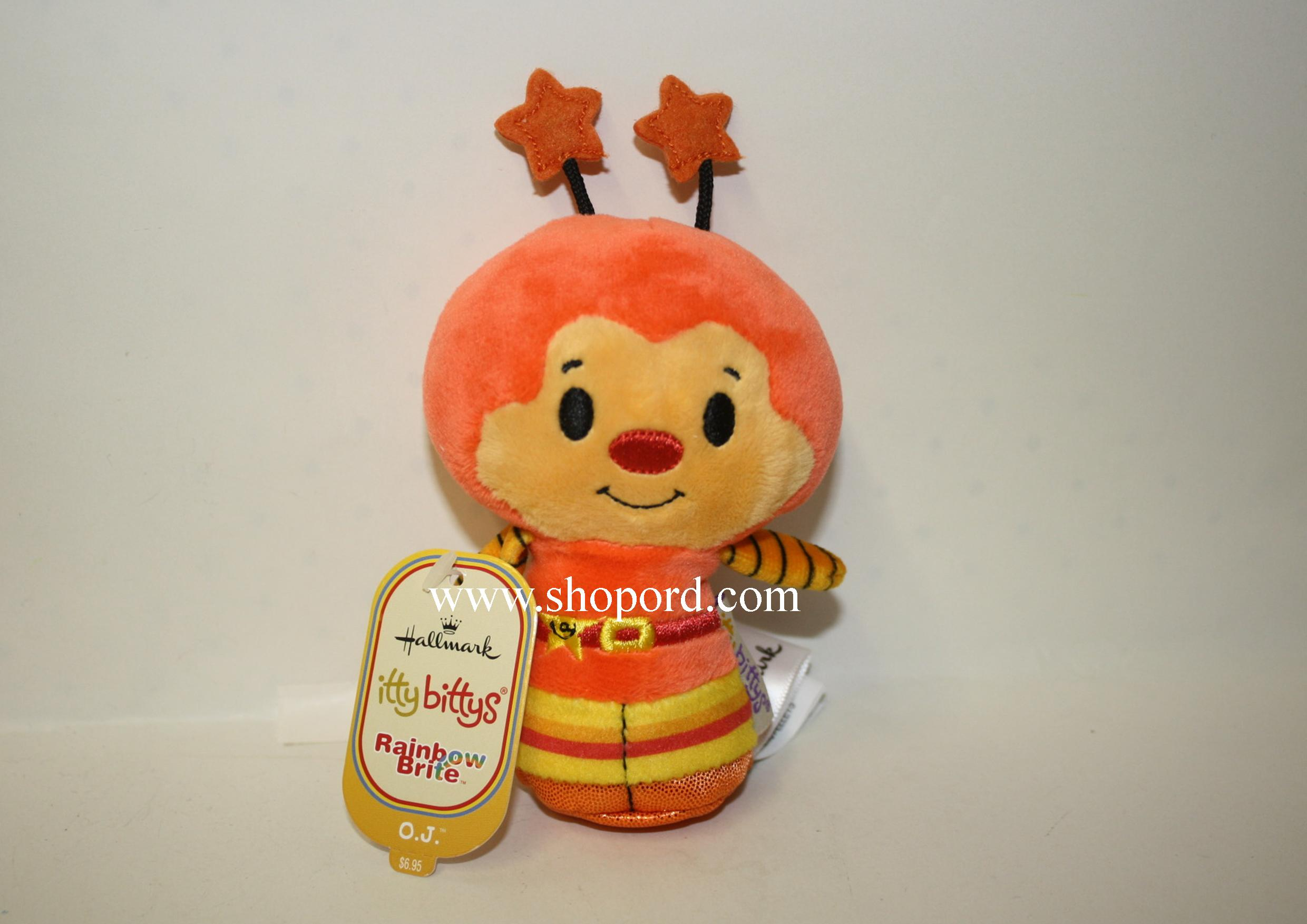Hallmark itty bitty OJ Plush Rainbow Brite KID3429