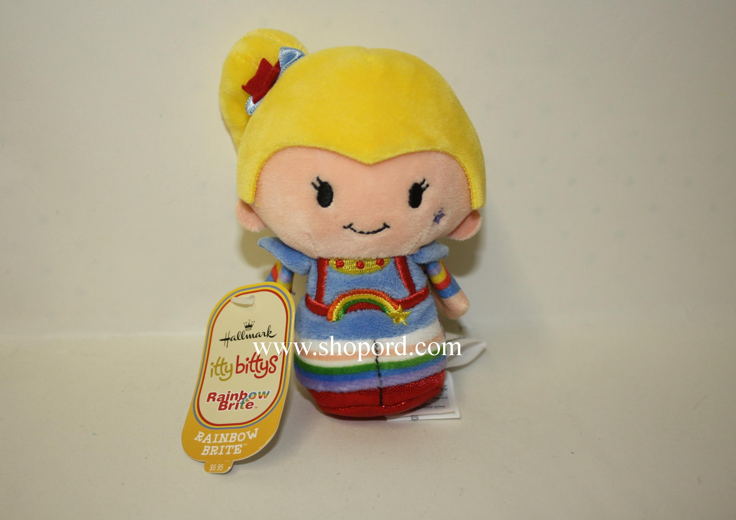 Hallmark itty bitty Rainbow Brite Plush KID3427