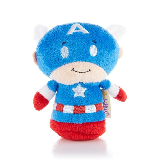 Hallmark itty bittys Captain America Plush KID3258