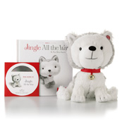 Hallmark Jingle Interactive Story Buddy Includes Book 1 Jingle All the Way & Read-along Cd XKT1035