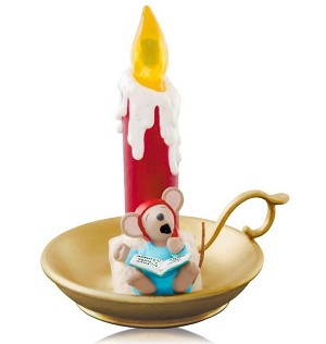 Hallmark 2014 Limited Quantities A Chris Mouse Christmas Ornament QXE3766