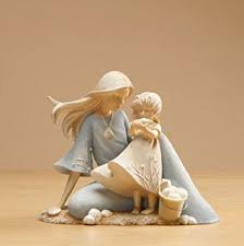 Enesco Foundations Mother and Child Figurine