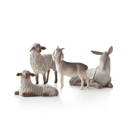 Willow Tree Sheltering Animals for the Holy Family Figurines