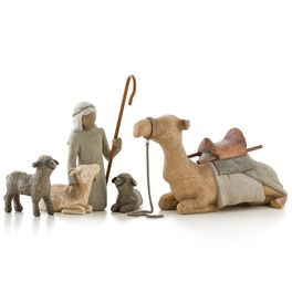 Willow Tree Shepherd & Nativity Animals