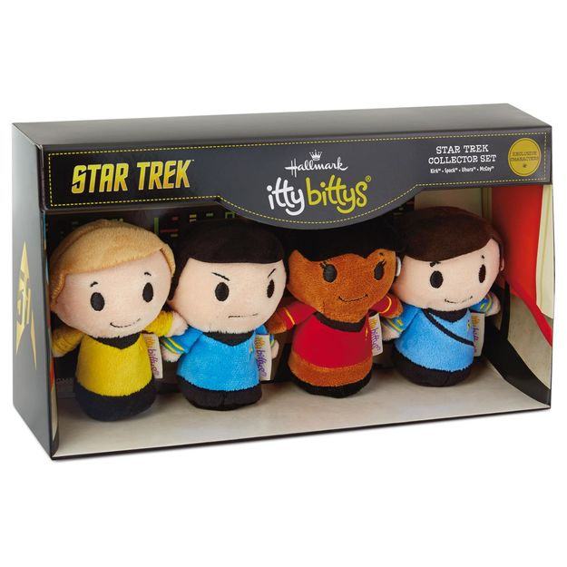 Hallmark itty bittys Star Trek Collector Set KDD1035