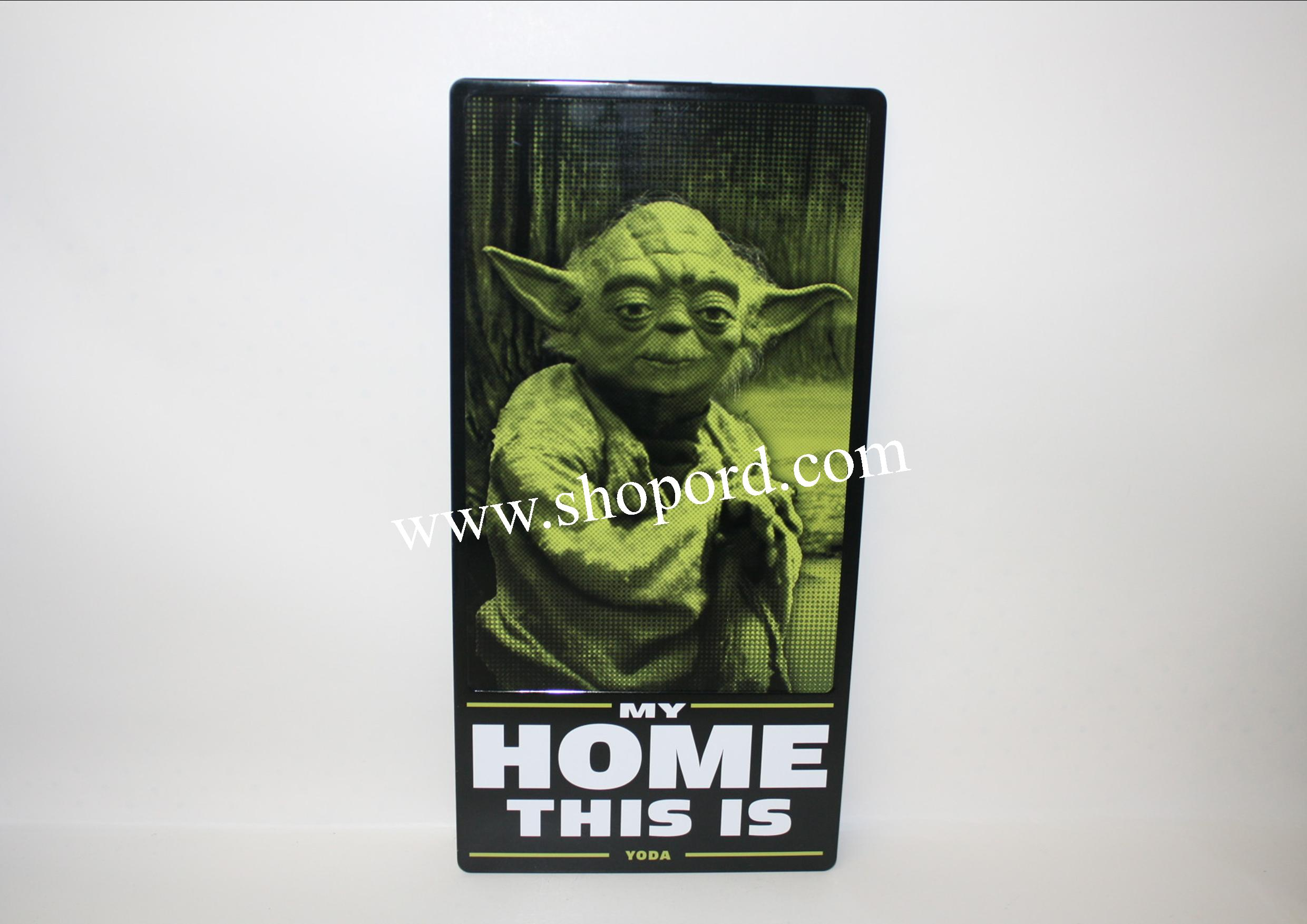 Hallmark Star Wars Tin Sign MY HOME THIS IS YODA SHP4022