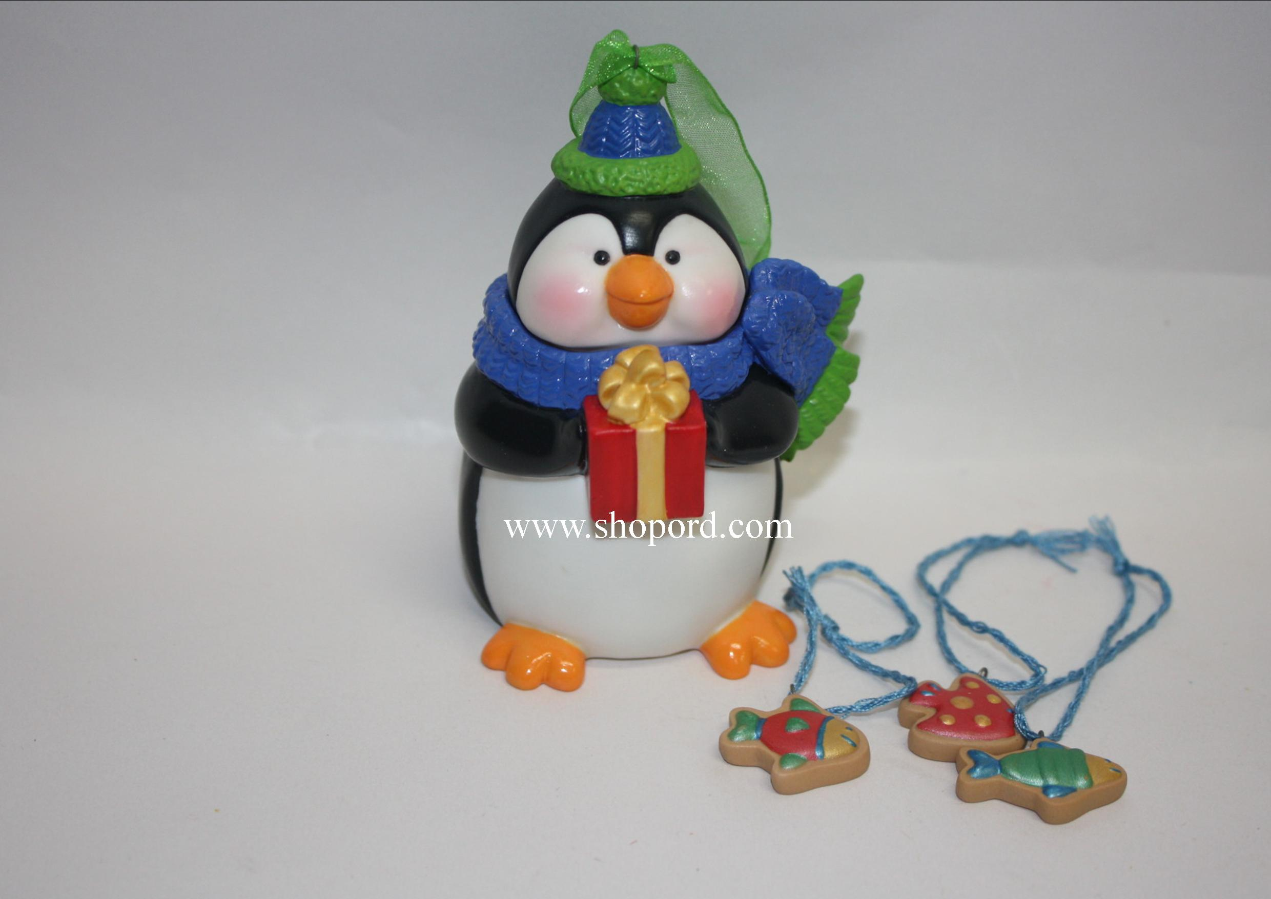 Hallmark 2005 Sweet Tooth Treats Ornament 4th in the series QX2175 Box Bent