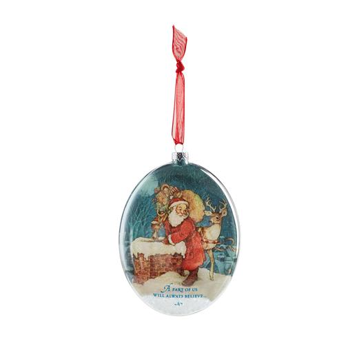 Hallmark 2013 The Magic of Believing Ornament (Glass) QXG1372