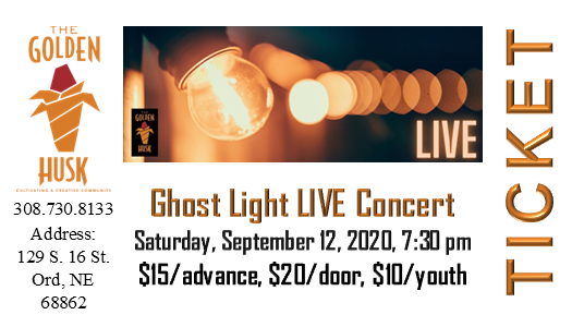 Ghost Light LIVE Concert Tickets