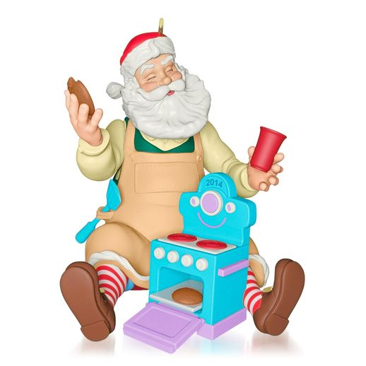 Hallmark 2014 Toy Maker Santa Ornament 15th in the Toymaker Santa Series QX9056