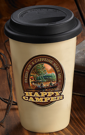 Terry Redlin- Happy Camper Travel mug