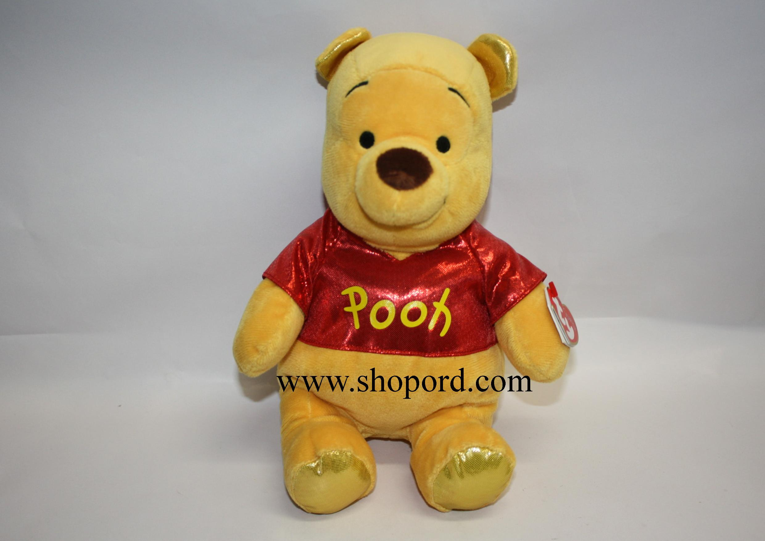 "Ty Winnie the Pooh 13"" Plush Bear with Sparkle 90164"