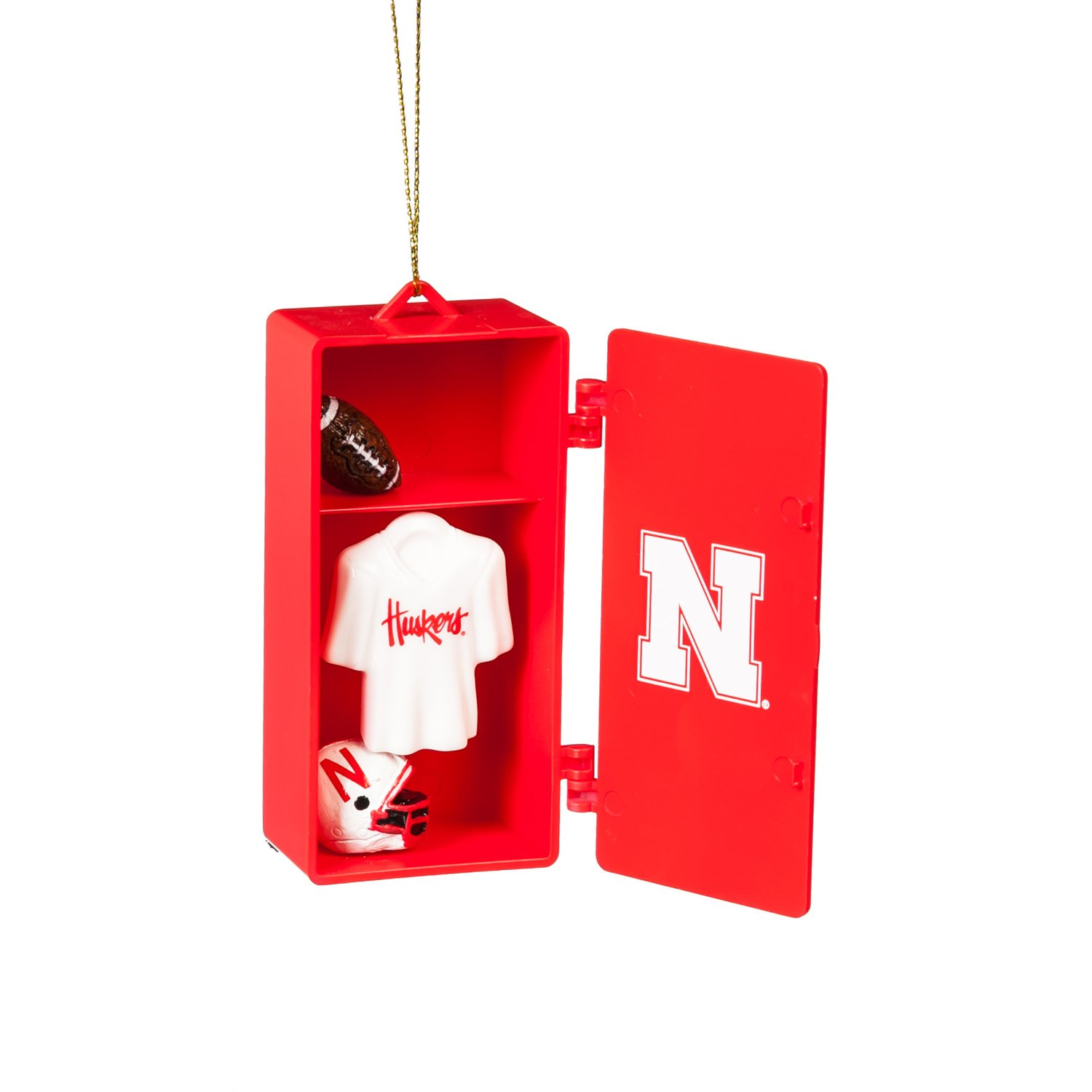 Huskers Team Locker Ornament