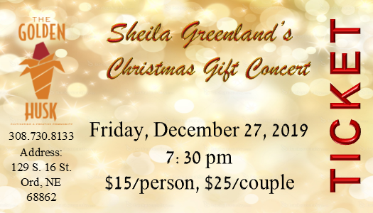 Sheila Greenland's Christmas Gift Concert