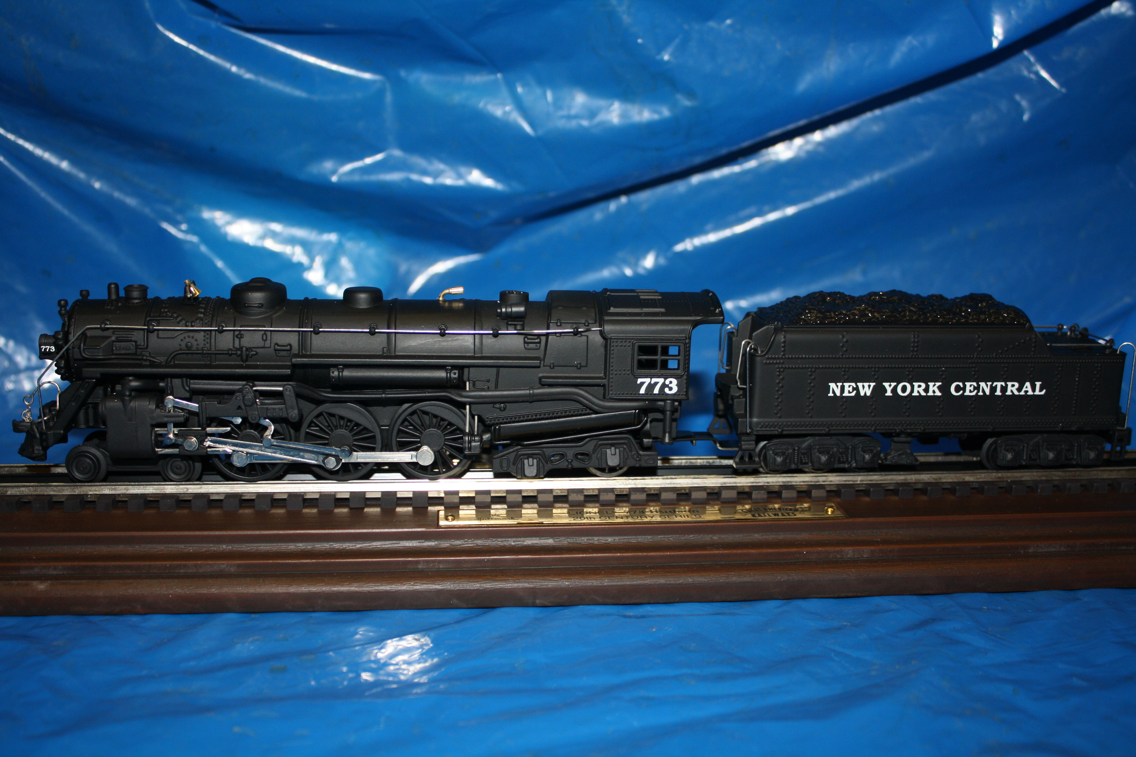 Hallmark Lionel 773 Hudson Steam Locomotive QHT7807