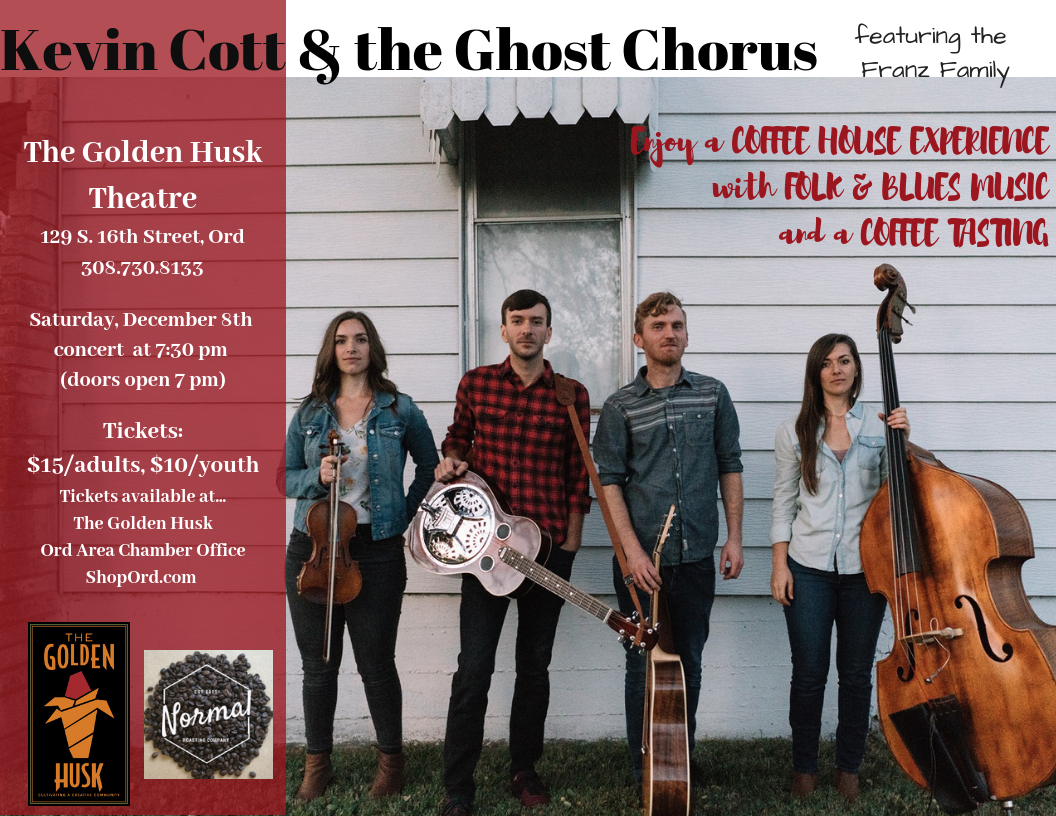Kevin Cott & the Ghost Chorus Concert Tickets