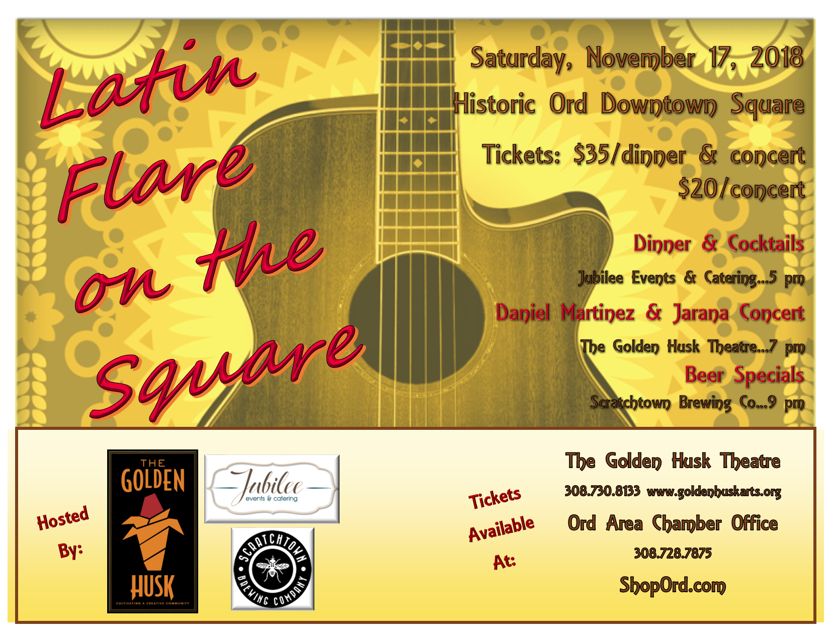 Latin Flare on the Square Tickets