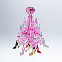 Hallmark 2012 The Shoe Chandelier Ornament Barbie Ornament QXI2684