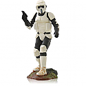 Hallmark 2014 Scout Trooper Ornament Star Wars Return of the Jedi 18th in the Star Wars series QX9186