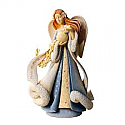Enesco Foundations Angel - Peace on Earth Figurine 4026890