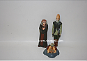 Hallmark 2000 Star Wars Jedi Council Members Saesee Tim Yoda and Ki Adi Mundi Set of 3 Miniature Ornament QXI6744