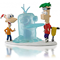 Hallmark 2014 Icy Cool Adventure Ornament Disney Phineas and Ferb QXD6133