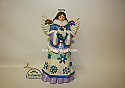 Jim Shore May Blessings Fall Upon You Snowflake Angel Winter Wonderland Figurine 4047658
