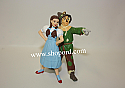 Hallmark 2002 Dorothy And Scarecrow The Wizard Of Oz QX8246