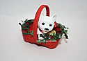Hallmark 2005 Puppy Love Ornament 15th in the series QX2312 Box Bent