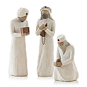 Willow Tree Three Wisemen Nativity Figurines