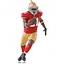 Hallmark 2014 Frank Gore San Francisco 49ers NFL Football Ornament QXI2826